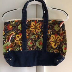 J. Crew Floral Tote Bag